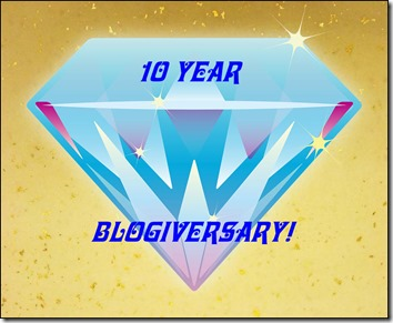 10th Blogiversary!