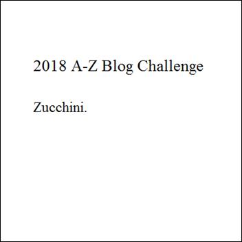 A-Z 2018 Z